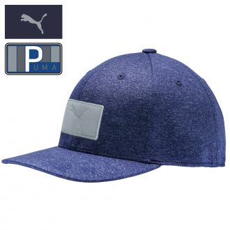 Youth Patch Snapback Cap - Peacoat