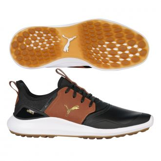 IGNITE NXT Crafted - Puma Black / Leather Brown