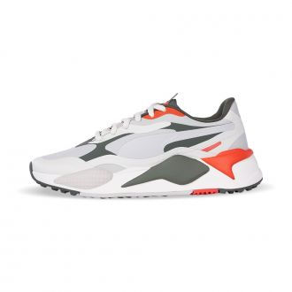 RS-G Golf Shoes - Vaporous Gray / Thyme / Pureed Pumpkin