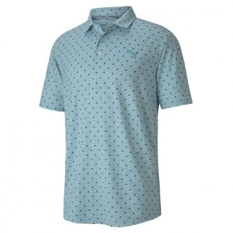 CLOUDSPUN Scatter Golf Polo - Milky Blue